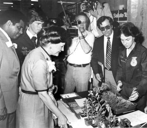 Horticulture Demonstration, ca. 1980