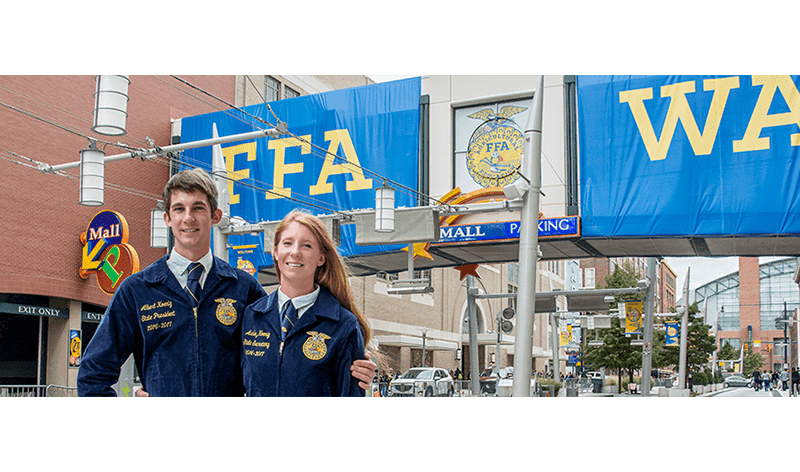 It Takes Two: Twins Serve as State FFA Officers in Three States