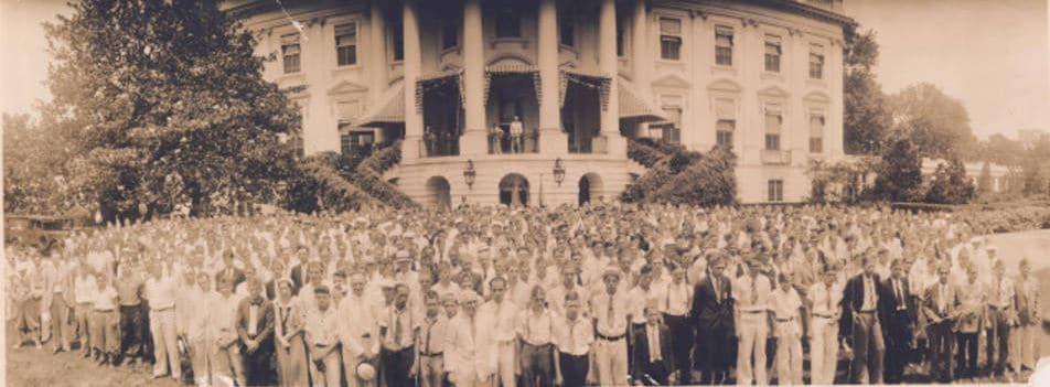 FFA Pilgrimage, 1933