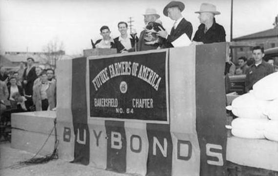 War Bond Auction, 1944