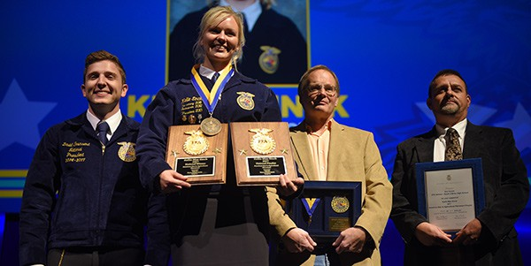 2017 Star in Agricultural Placement, Lellie Einck