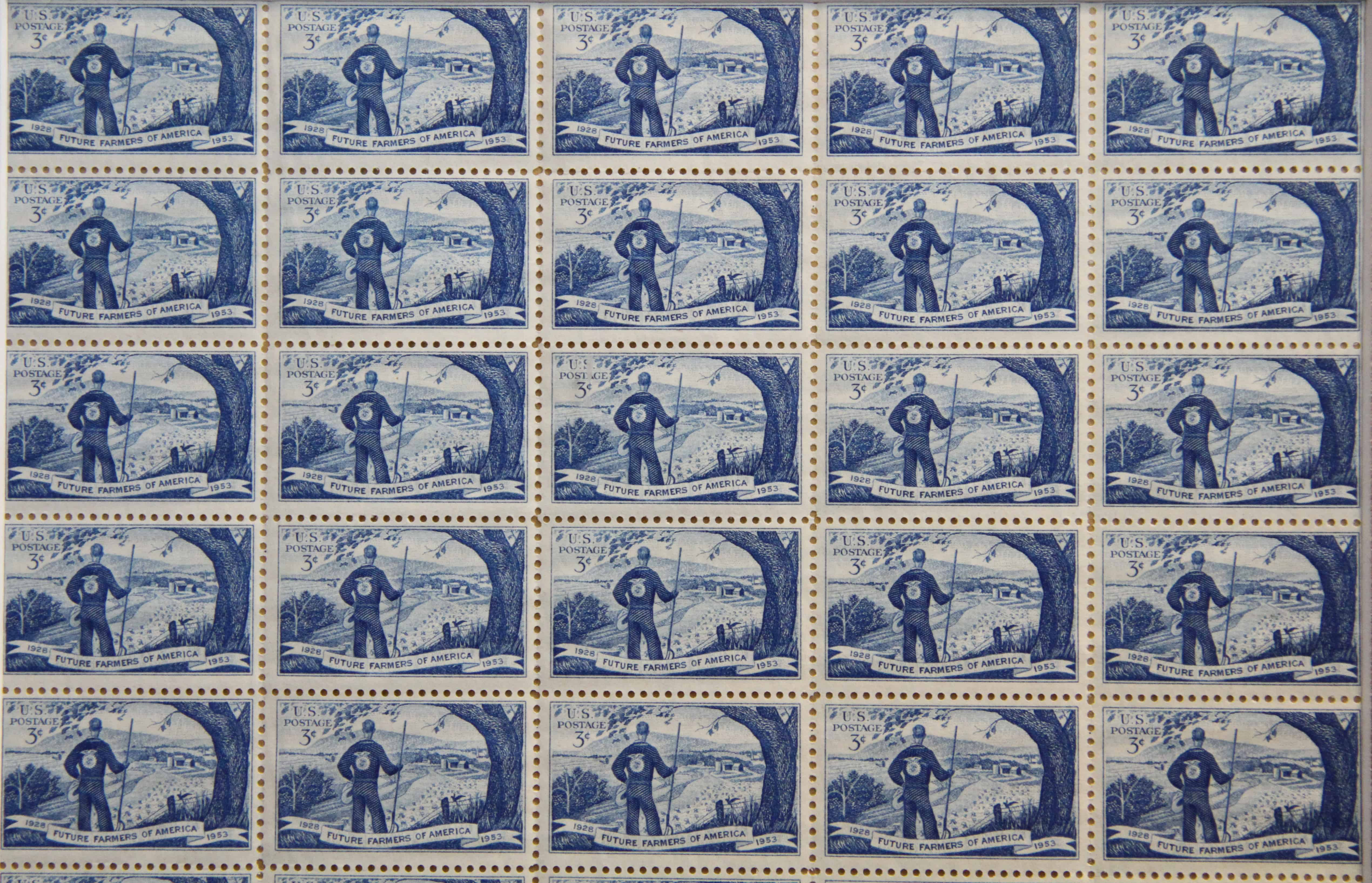 FFA Postage Stamp - 1953