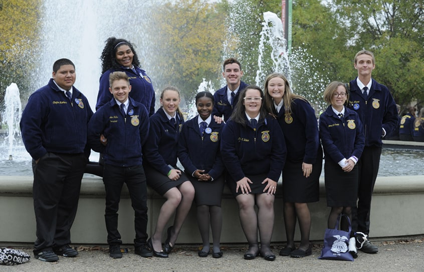 The Heart Of The National Ffa Organization Is At The Local Chapter Level Ffa Chapter May Be Chartered In Any Public School With An Agricultural Education