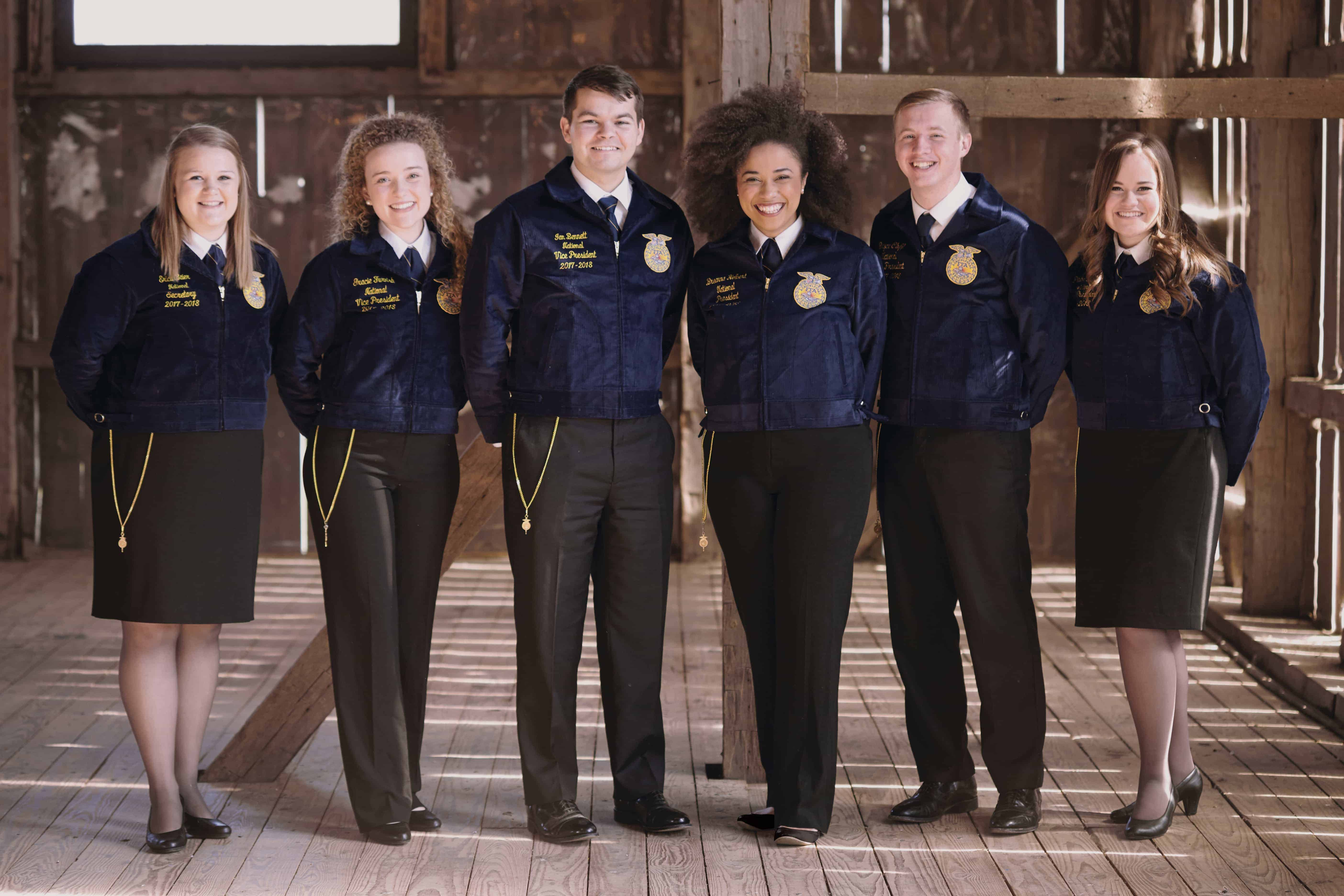 National Officers Reflect on Their Year of Service