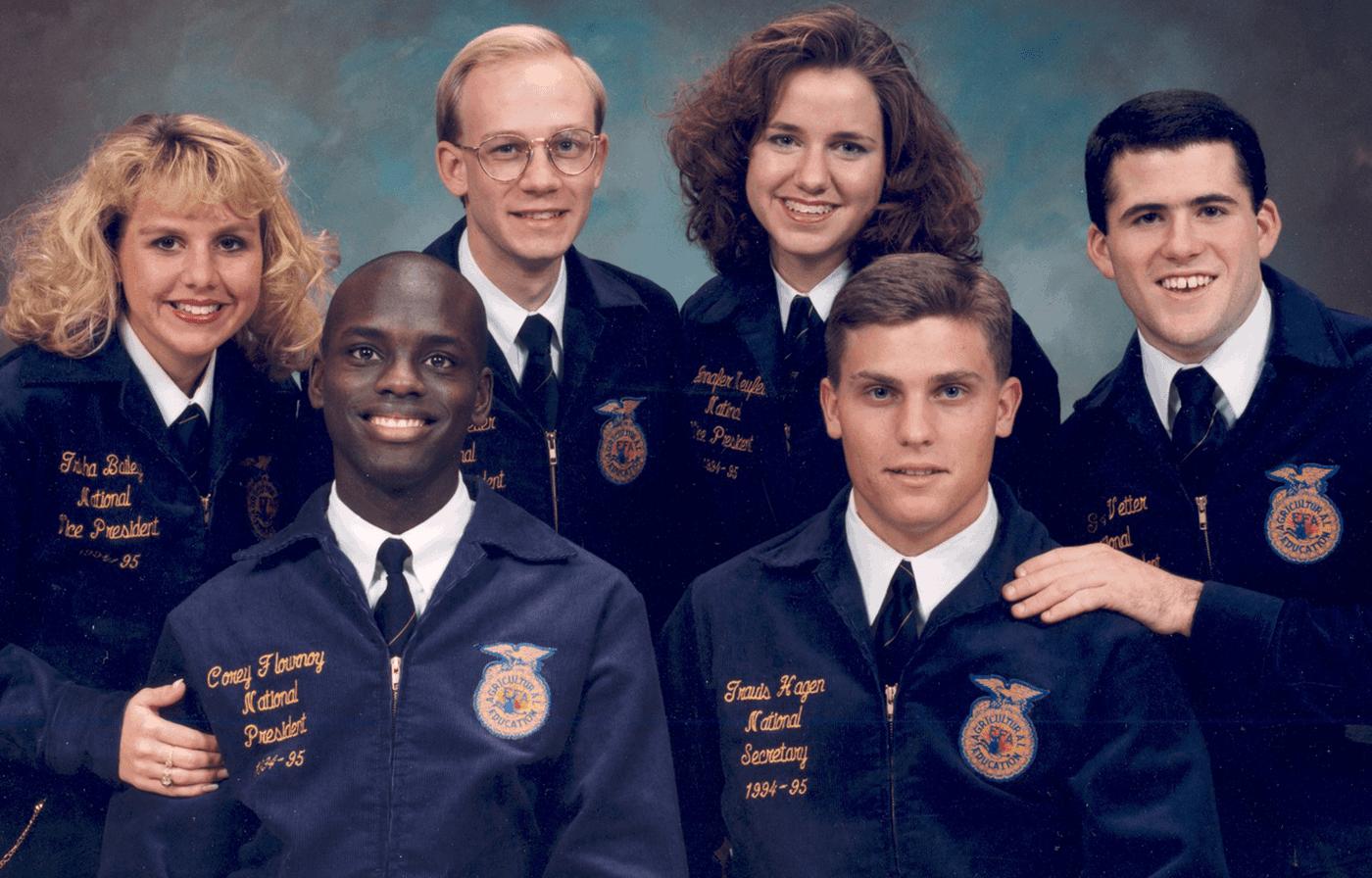 1994-95 National FFA Officer Team