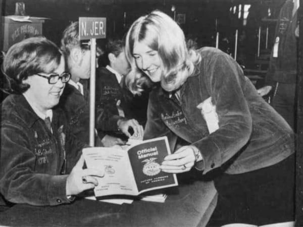 First Female Delegates, 1970
