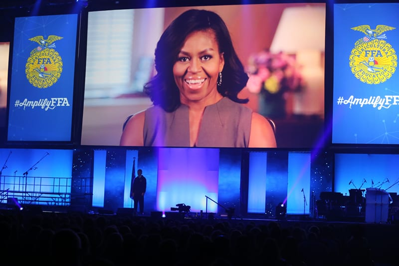 First Lady Michelle Obama Greeting Video, 2015