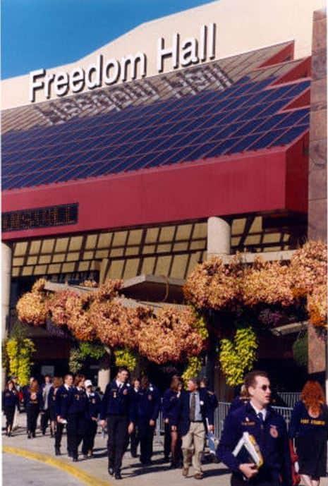 Freedom Hall, 1999