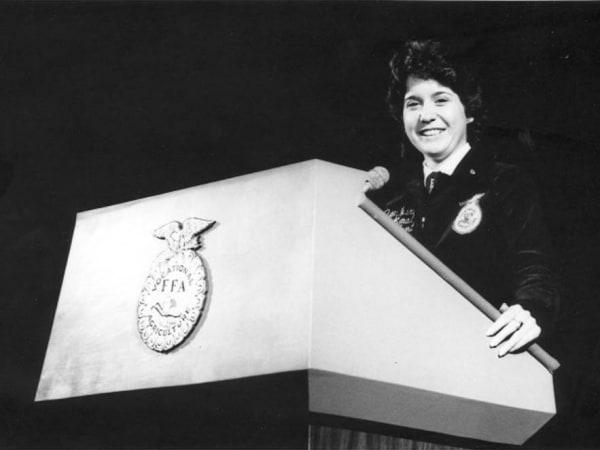 Jan Eberly, ca. 1983