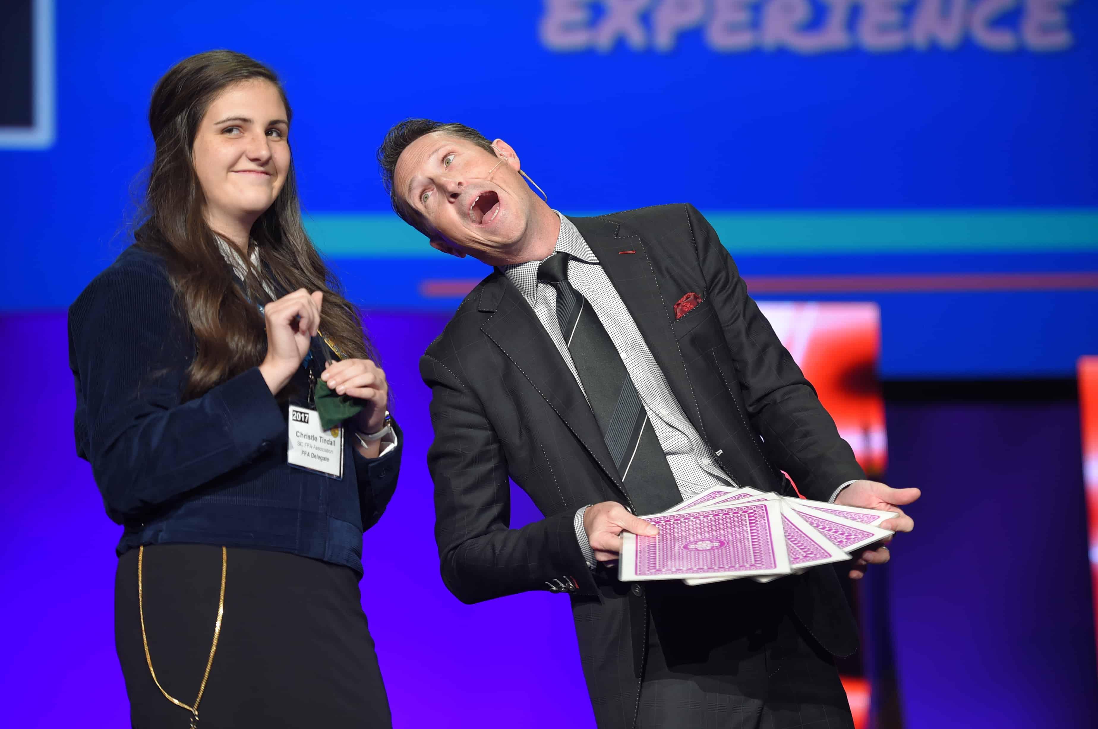 Make It Happen: Keynote Speaker Jon Petz Energizes FFA Members to Make an Impact