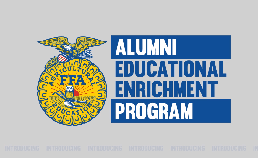 Introducing the FFA Alumni Educational Enrichment Program