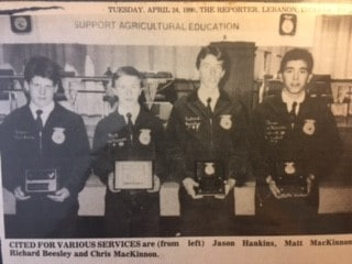 My FFA Story: Giving Back Comes Full Circle