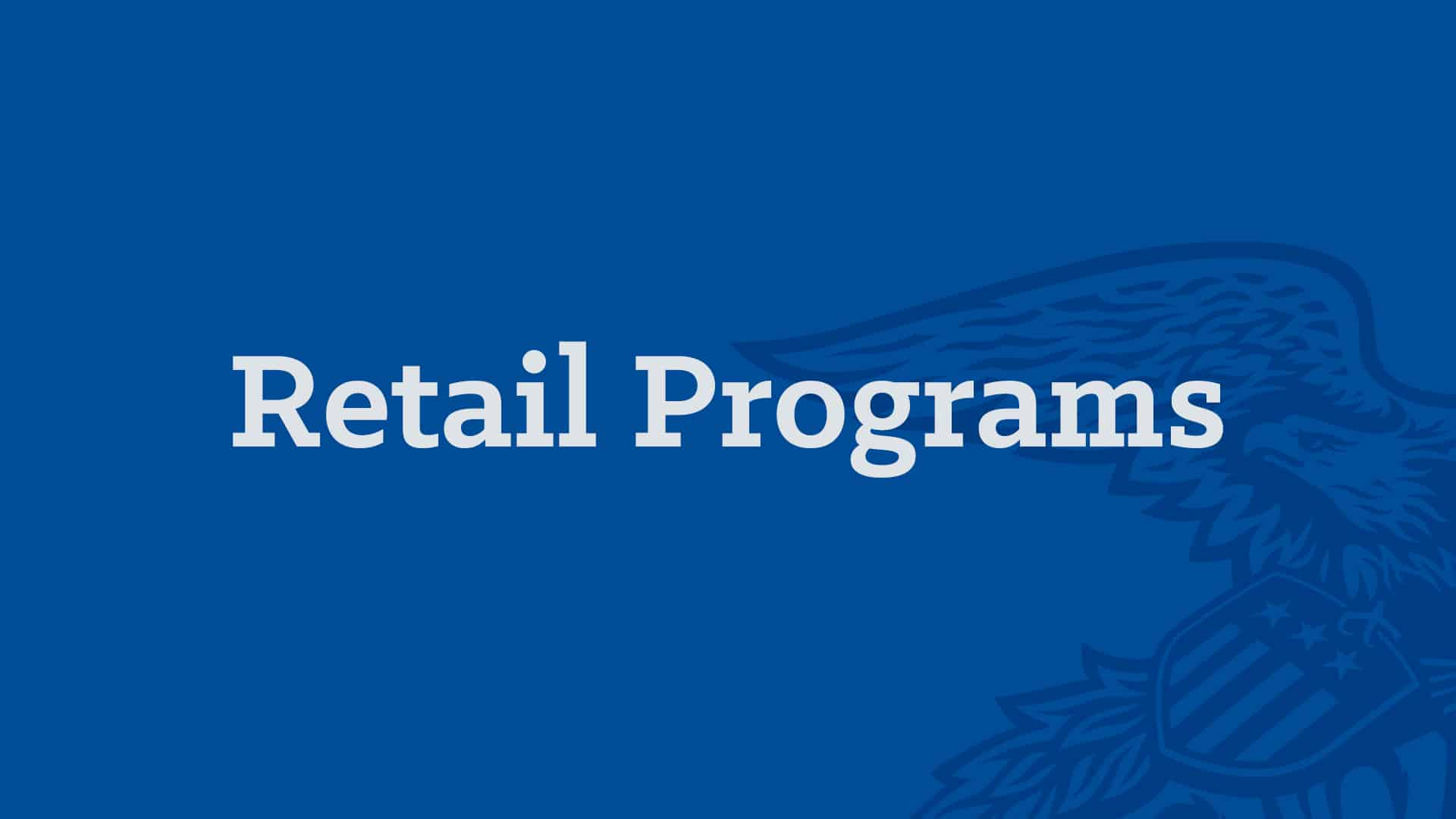 Local Engagement Programs - Retail Programs