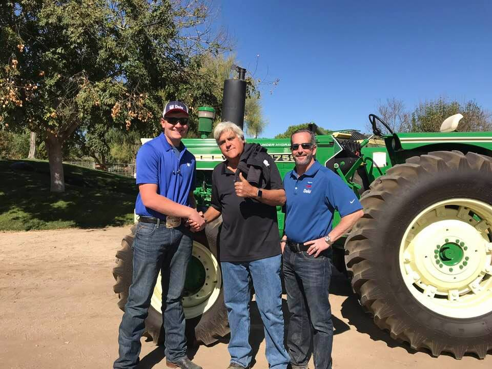 Persistence Earns Tractor Restoration Champ Jay Leno Appearance