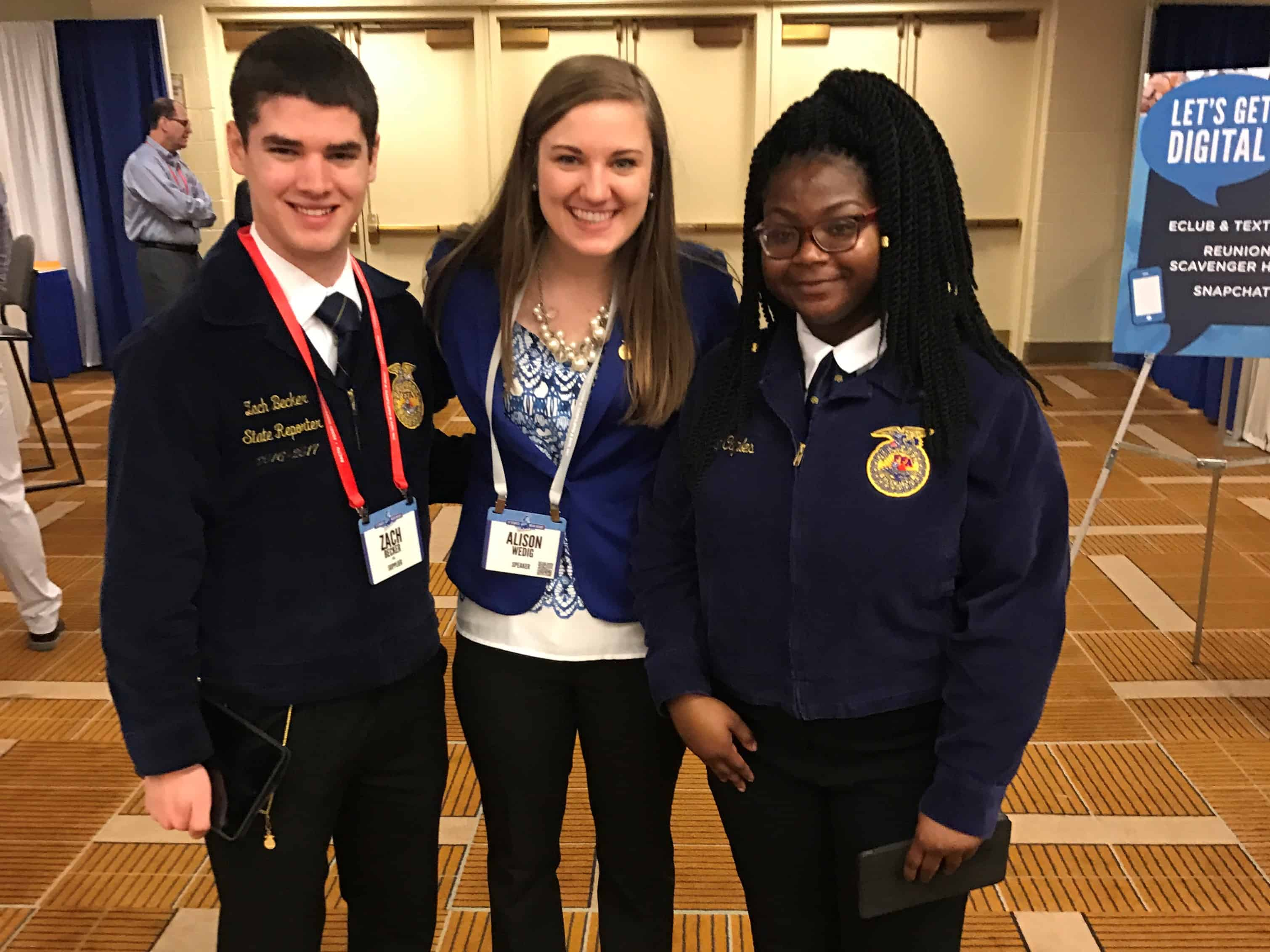 FFA Connection Turns Into Career With Culver's