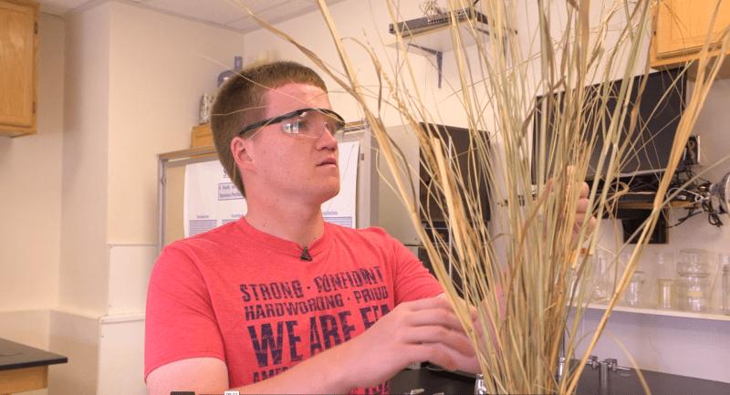 Eric Koehlmoos 2018 Star in Agriscience Finalist