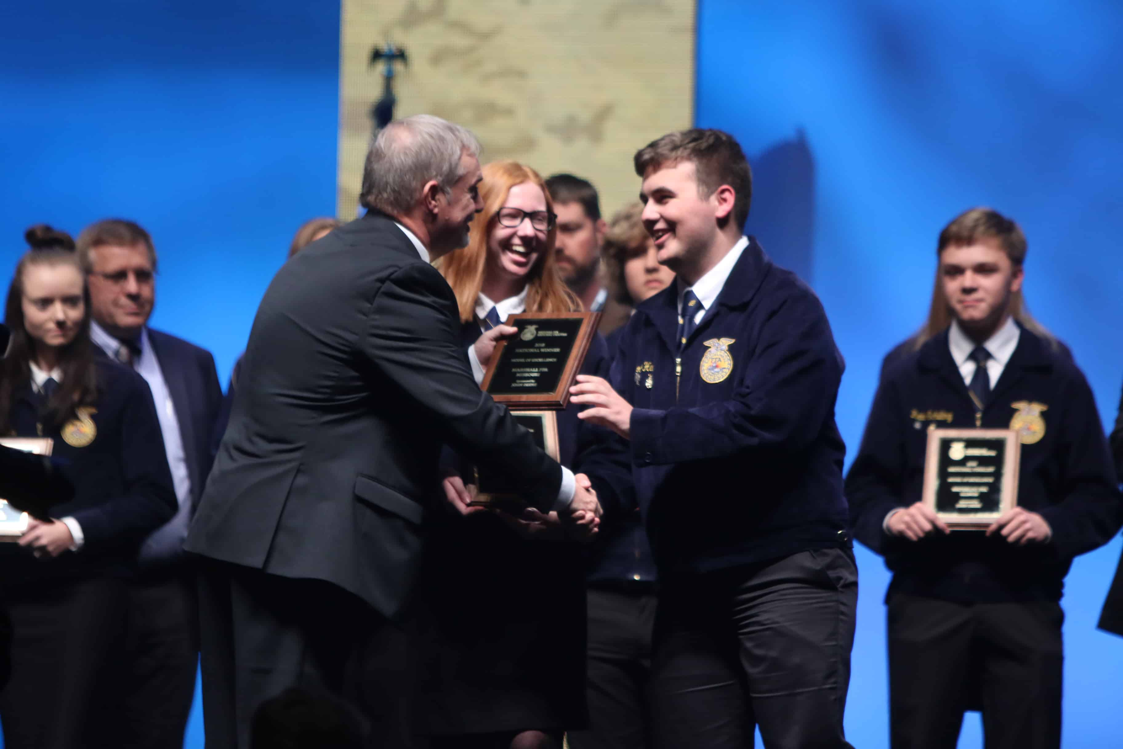 Five FFA Chapters Named National Chapter Award Winners