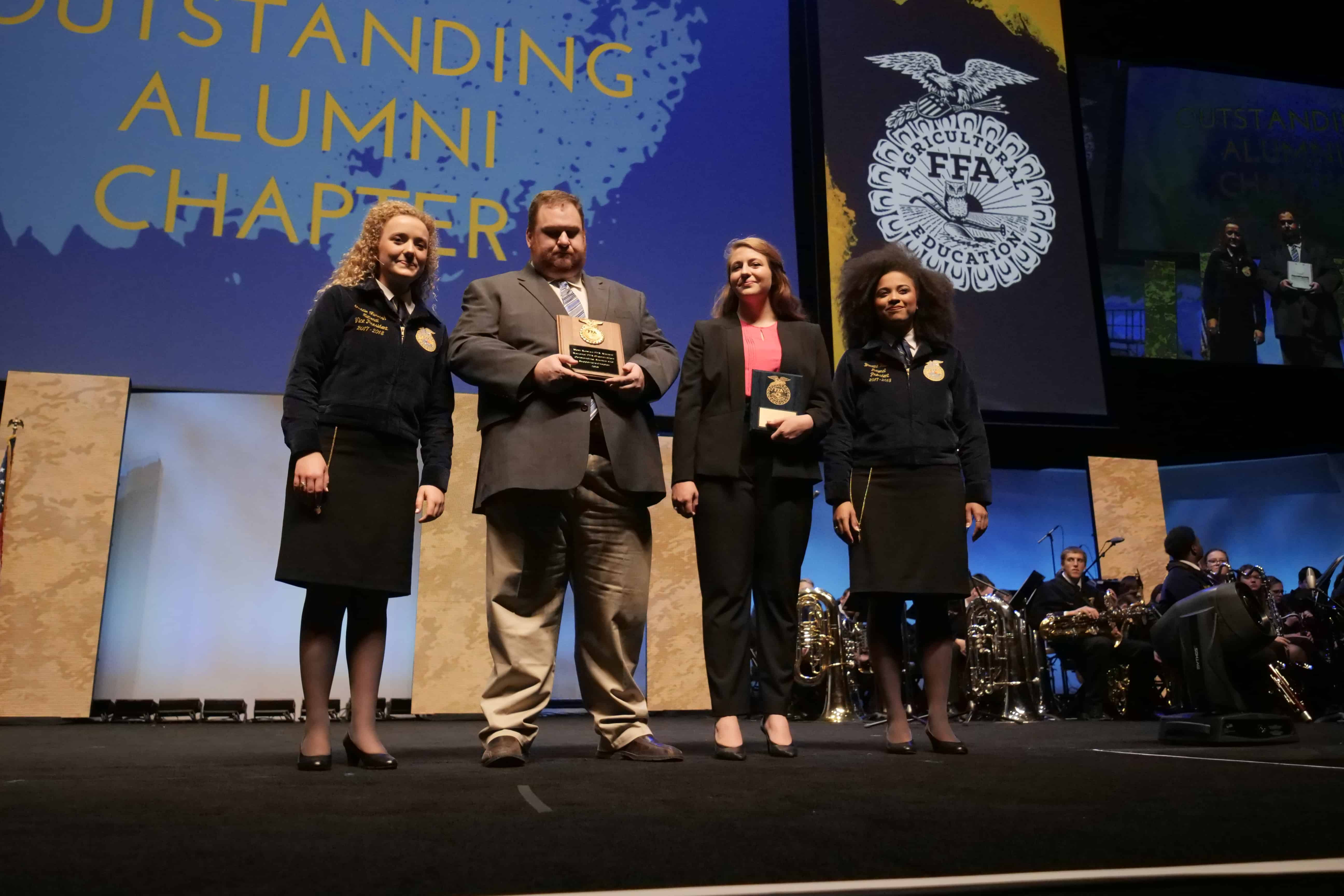West Rowan Named 2018 Outstanding FFA Alumni Chapter
