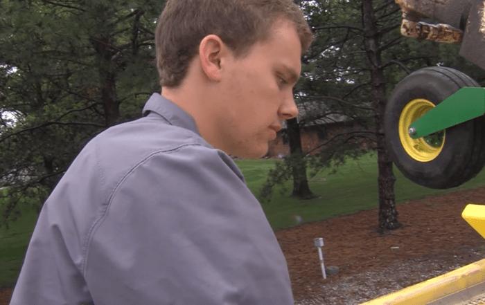 Aaron Deunk 2018 Star in Agribusiness Finalist