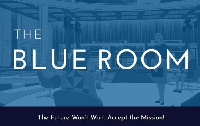 The Blue Room Graphic