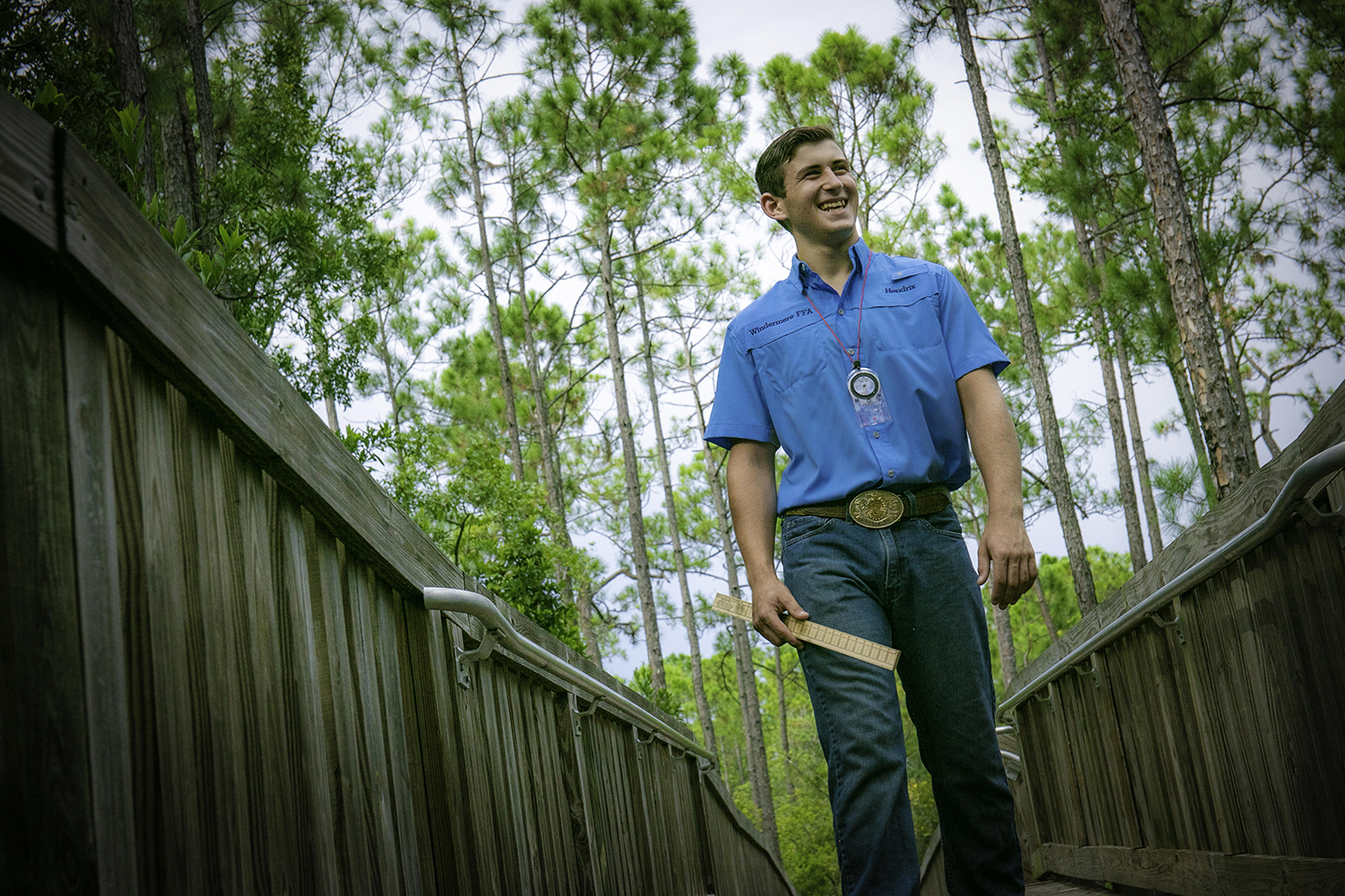 Florida Member Eyes A Future in Forestry