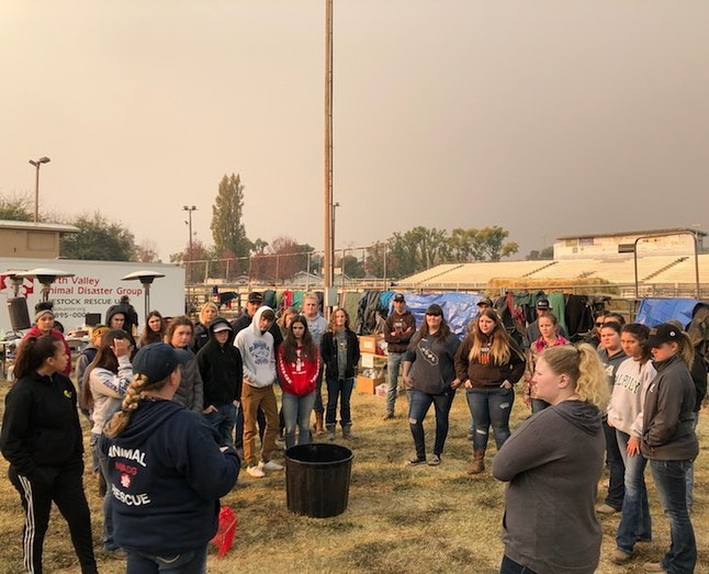 FFA is 'Boots on the Ground' in Wildfire Relief Effort
