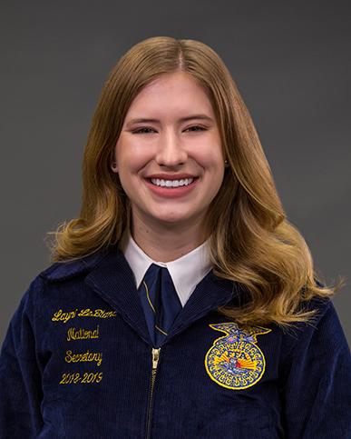 Layni LeBlanc - Secretary 2018-19