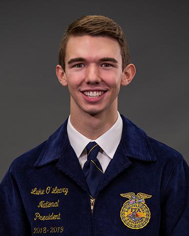 Luke O'Leary - President 2018-19
