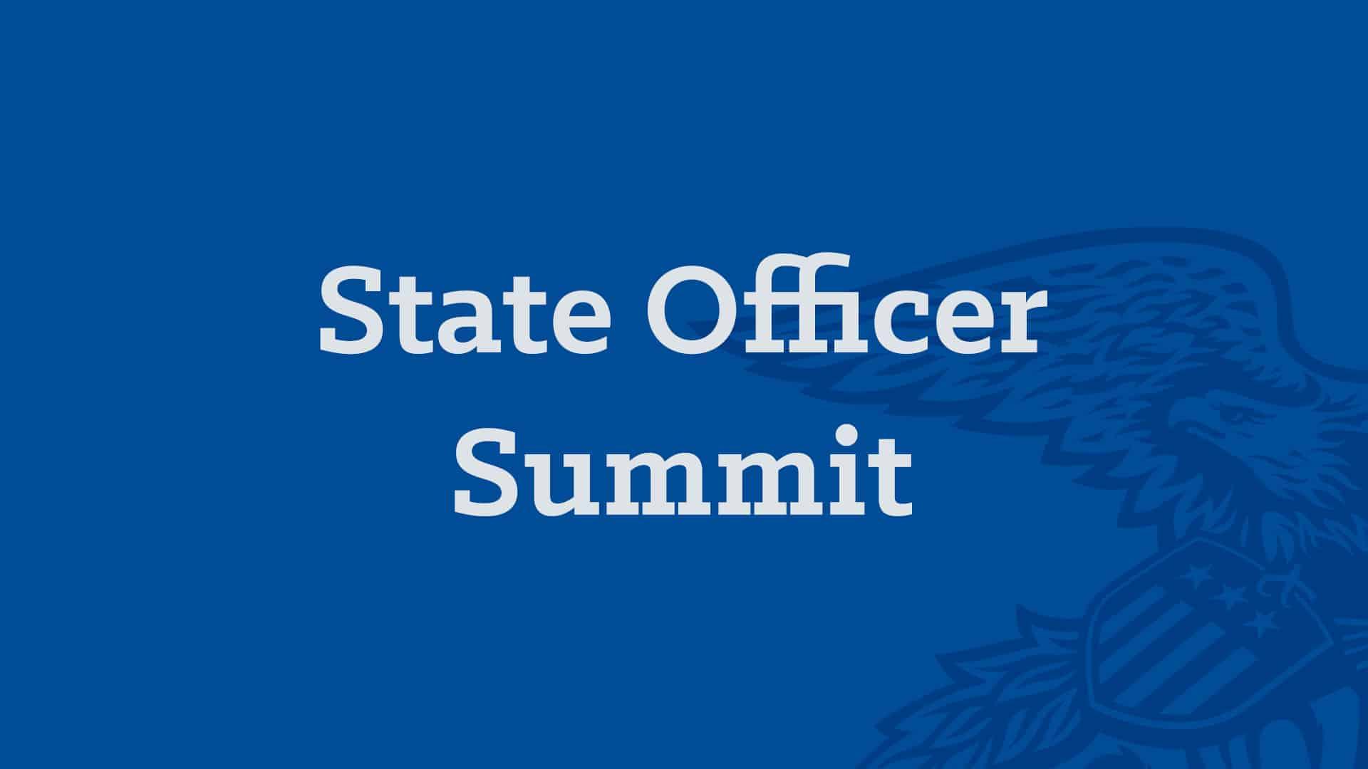 State Officer Summit