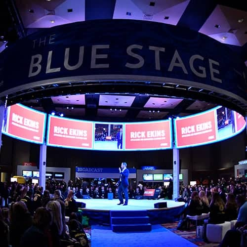 Blue Stage