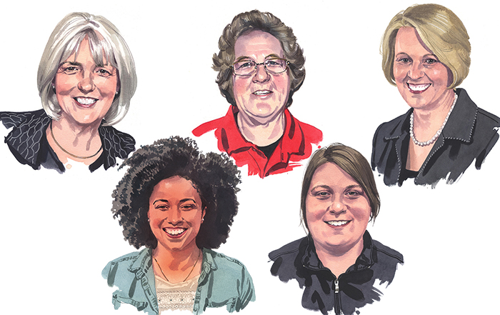 Meet 5 Women Who Helped Shape the Future of FFA