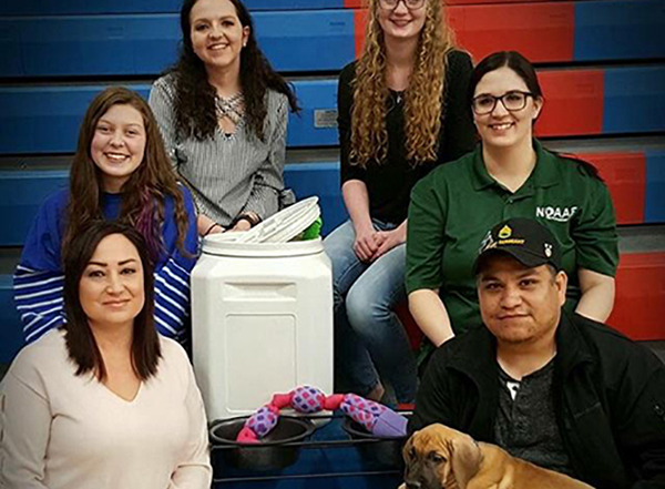 FFA Members Place Service Dog with U.S. Army Veteran