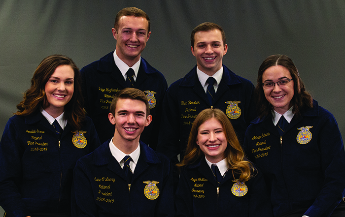 Get Ready to Grow With the 2018-19 National Officers