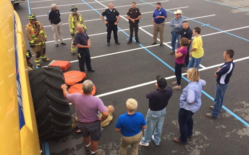 Indiana FFA Chapter Offers Trauma Training