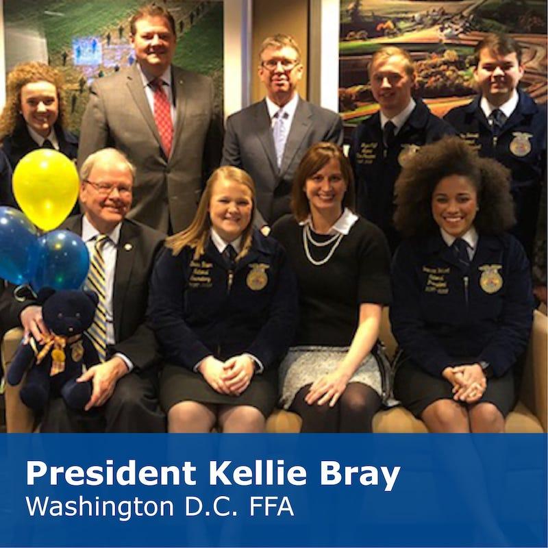 President Kellie Bray