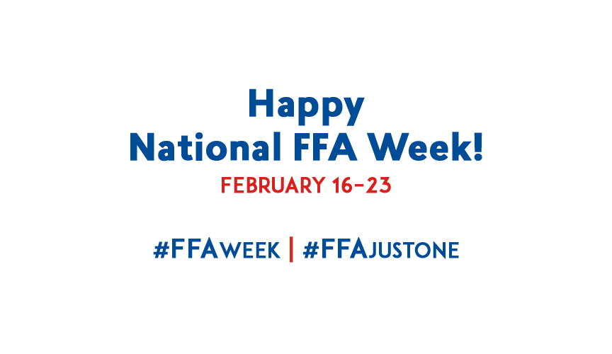 Happy National FFA Week!