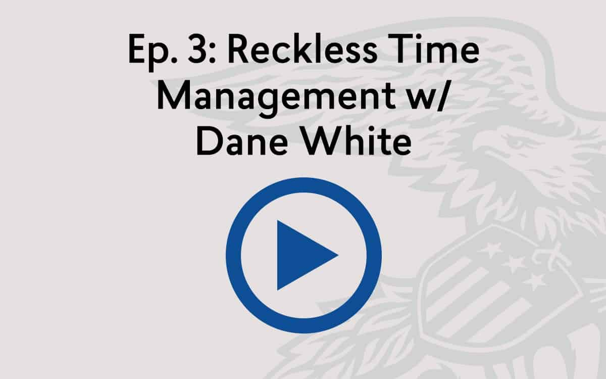 Reconsidered Podcast: Reckless Time Management