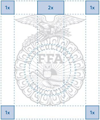 Illustration of FFA Emblem Clearance