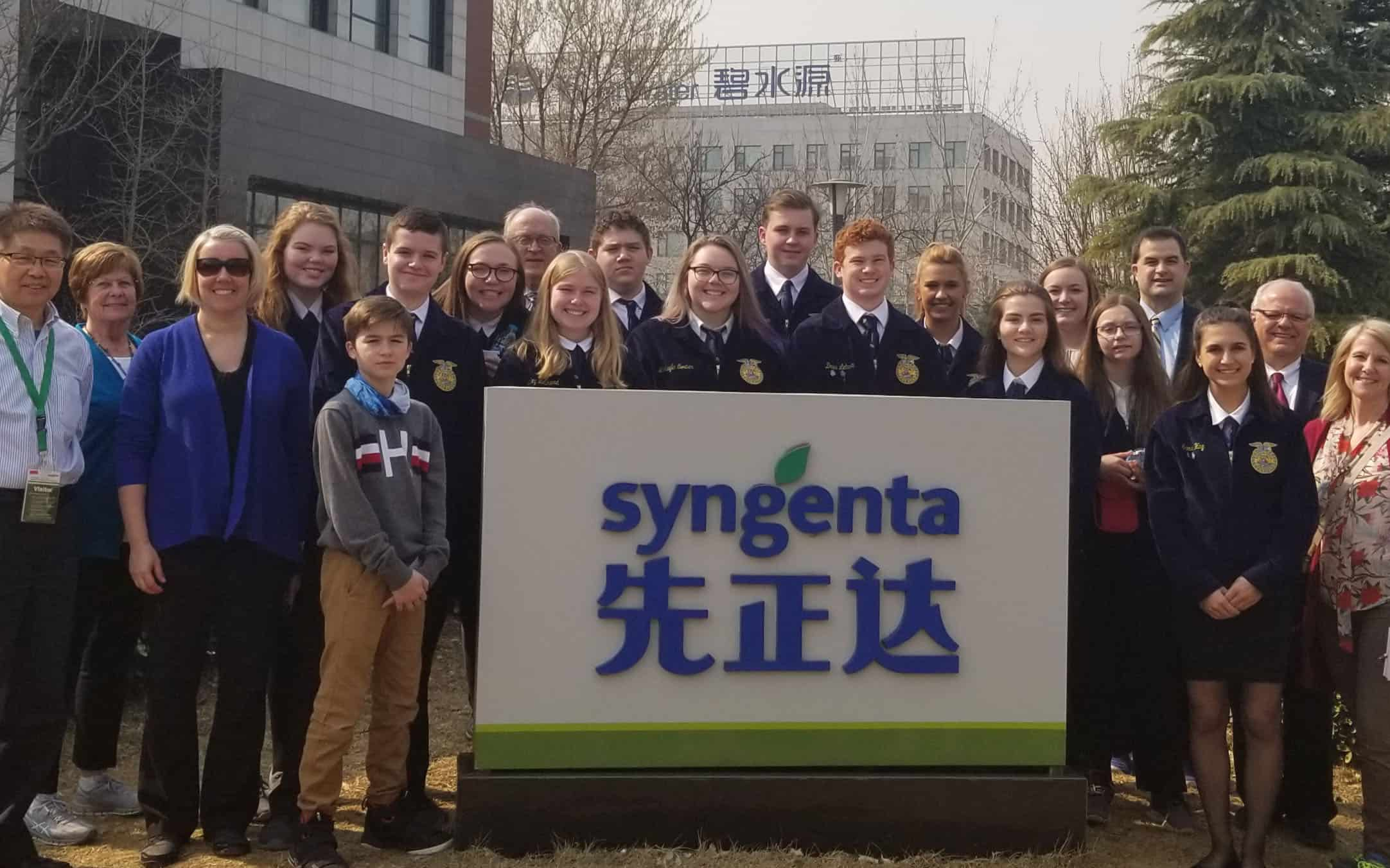 Iowa FFA Chapter Takes an International Adventure