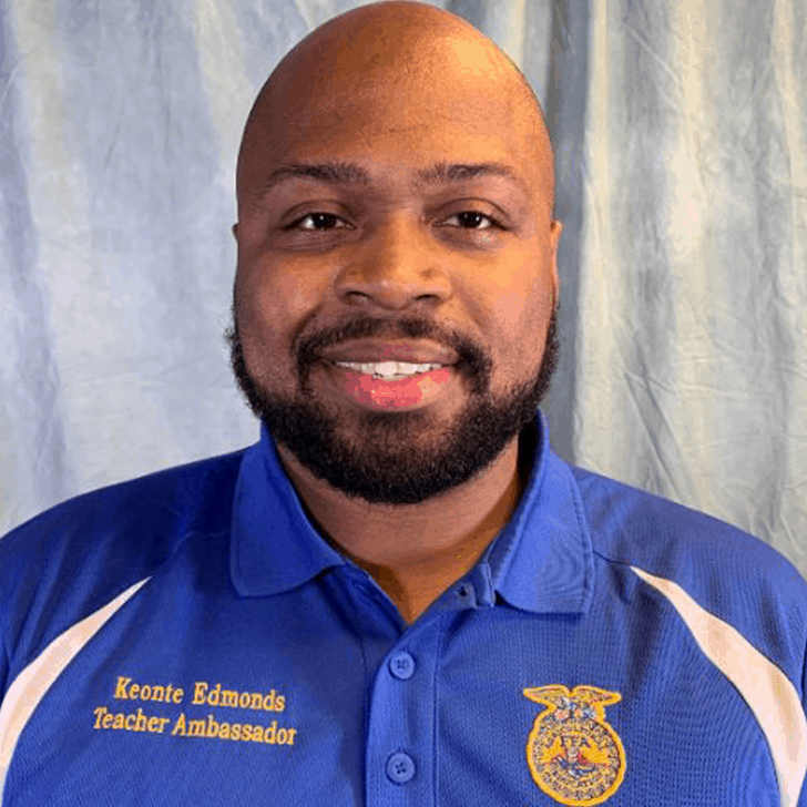 Keonte Edmonds 2019 Teacher Ambassador