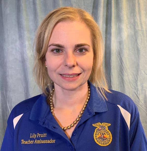Lily Pruitt 2019 Teacher Ambassador