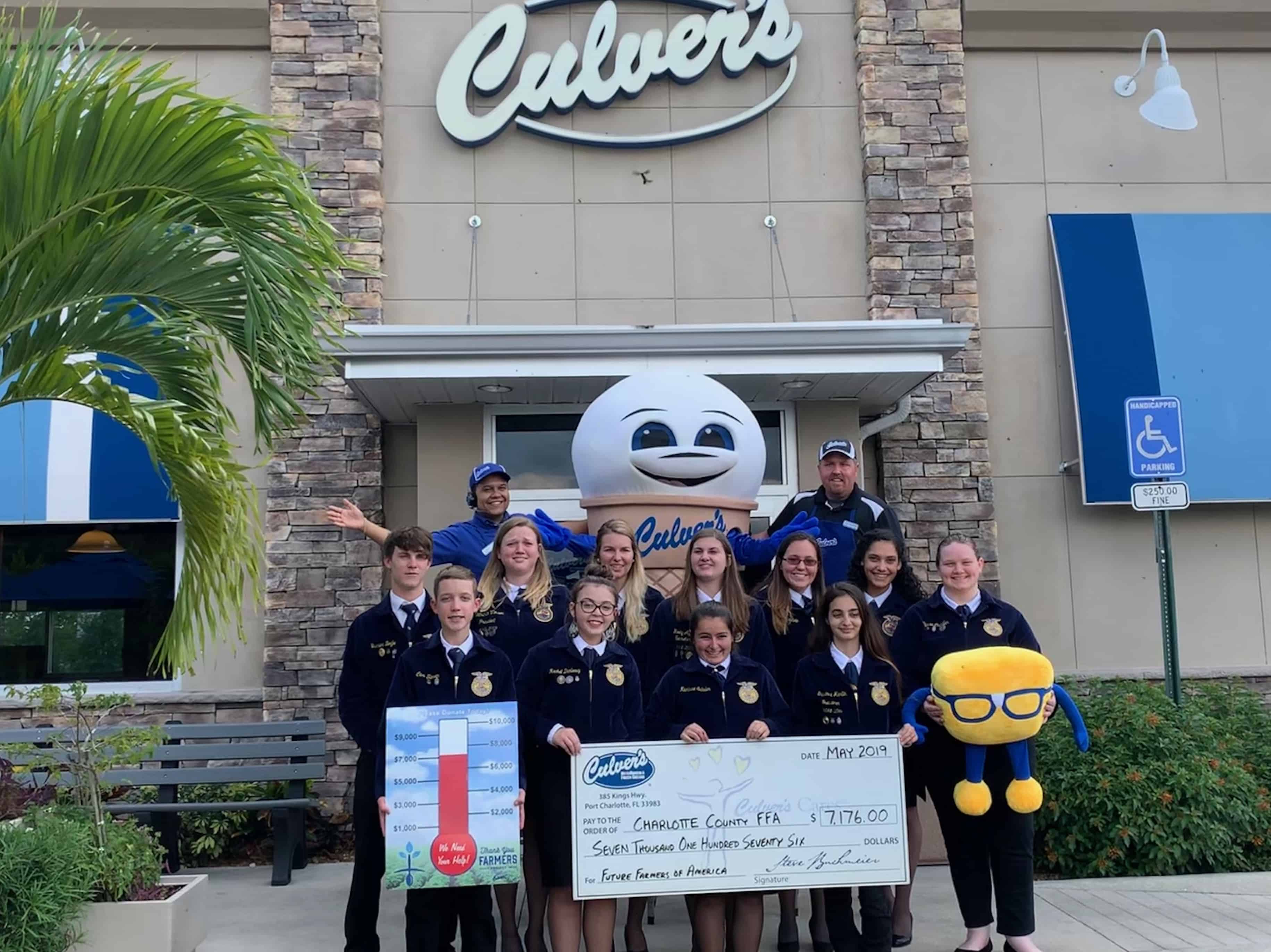 How to Fundraise for Your Chapter at Culver's