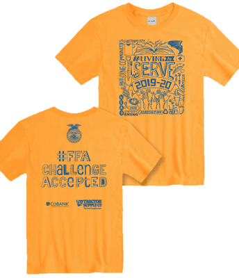 FFA Challenge Accepted T-Shirt