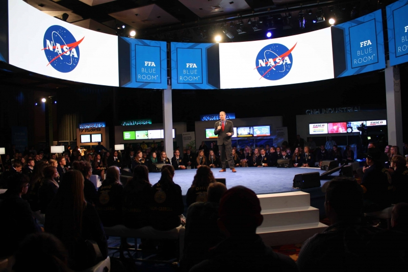 NASA Administrator Bridenstine Talks Intersection of Space, Ag