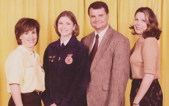 Jamie Johansen 2000 National FFA Convention