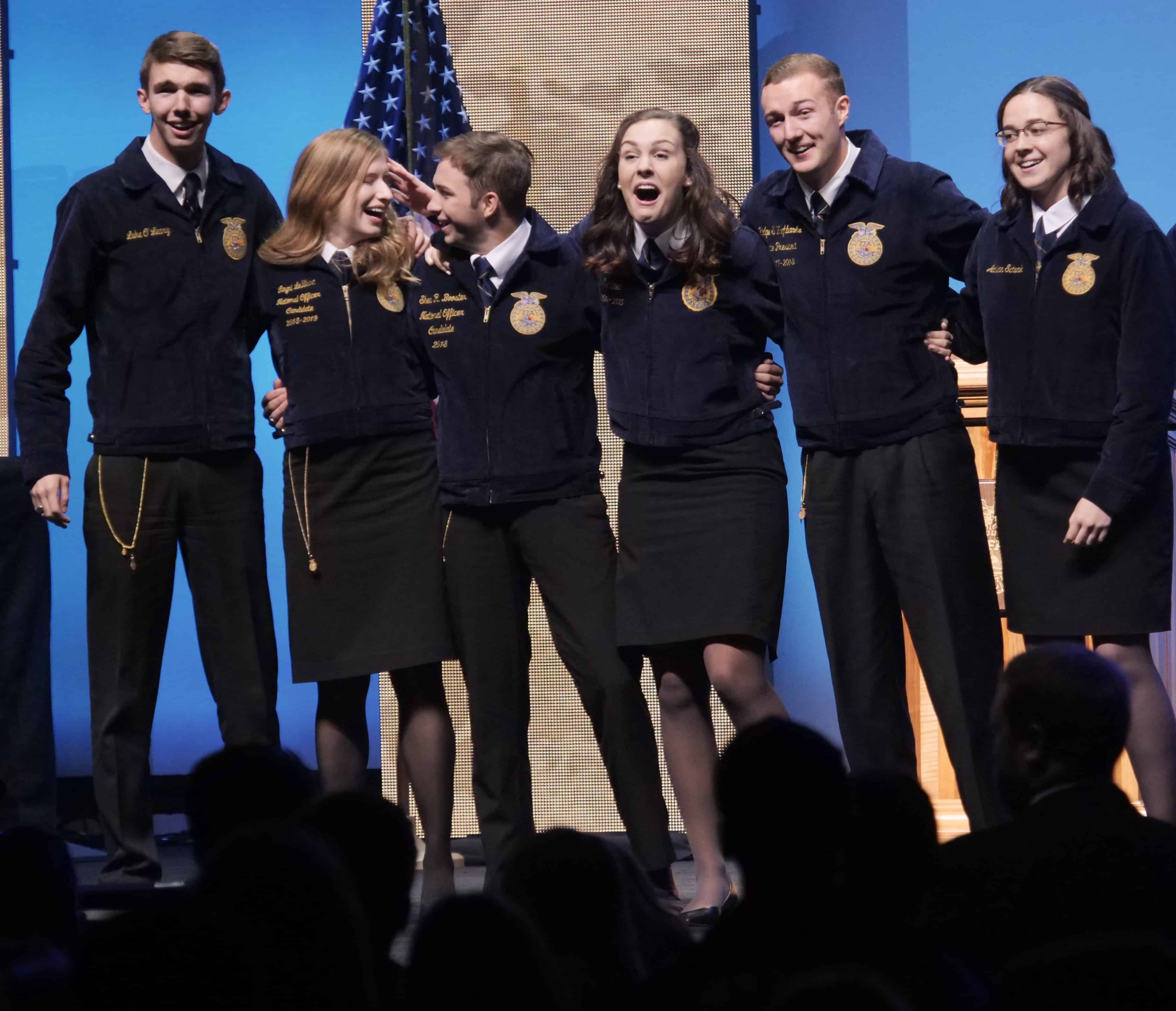 25 National Officer Candidates Advance To Phase 2 Of The