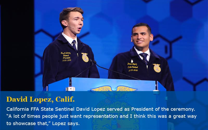 National FFA Convention Features Spanish Opening Ceremony