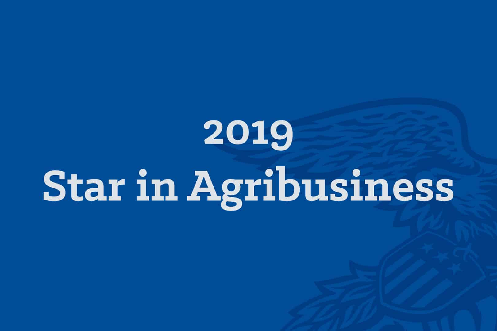 2019 Star in Agribusiness 600x400