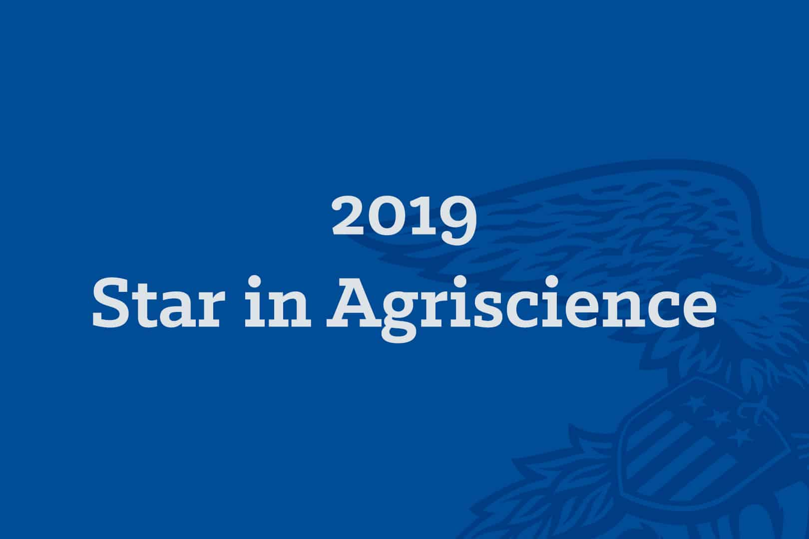 2019 Star in Agriscience 600x400