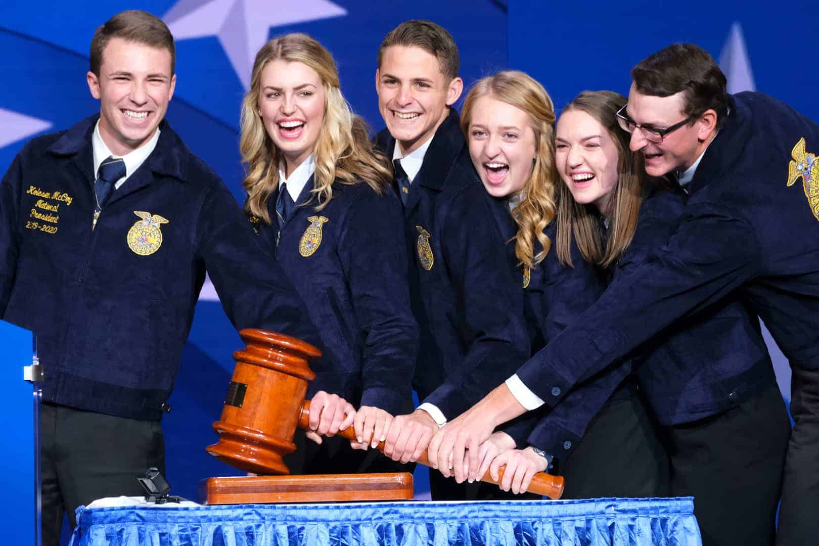 2019-20 National FFA Officer Team Elected